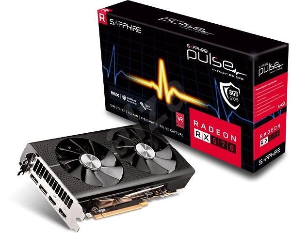 SAPPHIRE PULSE Radeon RX 570 8G G5 HDMI DP - Grafická karta