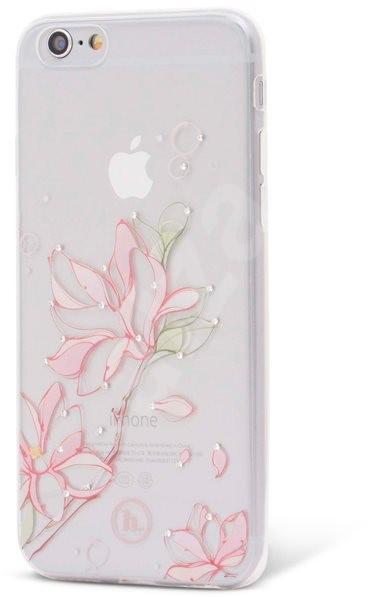 Epico Hoco Lily pre iPhone 6 a iPhone 6S transparentný biely - Ochranný kryt 337bb75a924