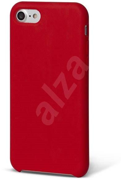 EPICO SILICONE na iPhone 7/8 červený - Kryt na mobil