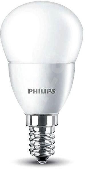 Philips LED Kvapka 5,5-40W, E14, 2700K, mliečna - LED žiarovka