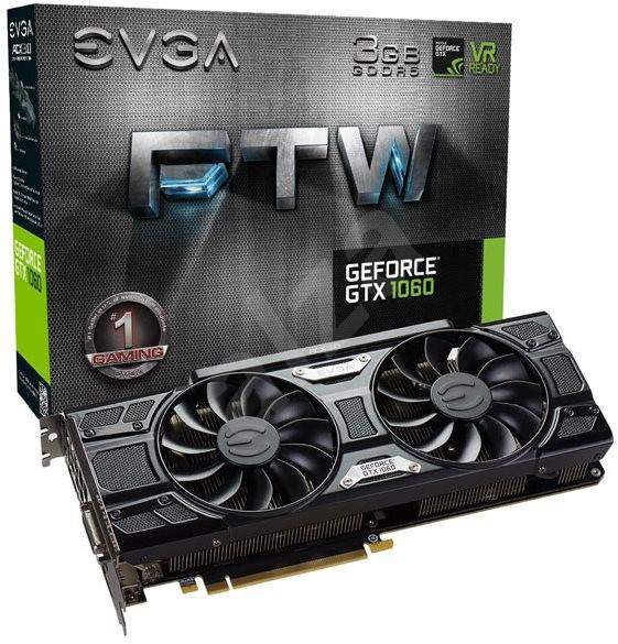 EVGA GeForce GTX 1060 3GB FTW GAMING ACX 3.0 - Grafická karta
