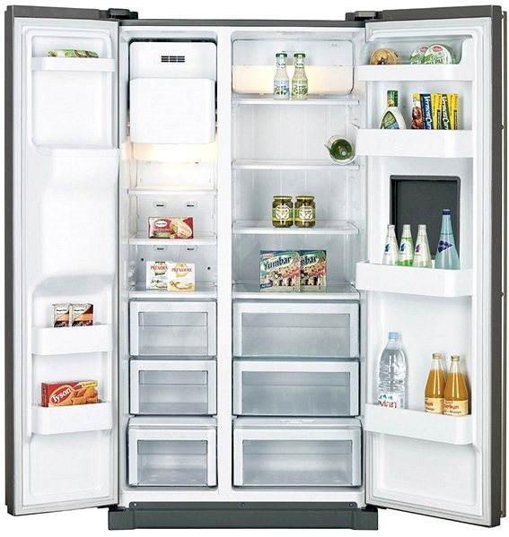 Samsung RSA1ZTMG1/XEO, side-by-side - Americká chladnička