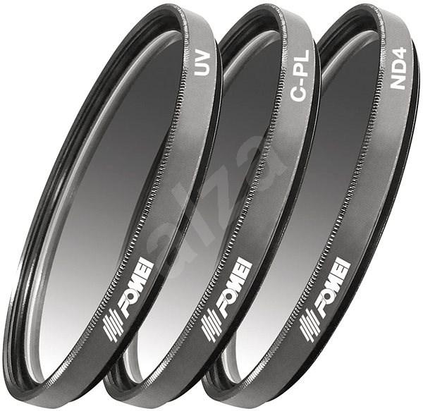 Fomei Filter Kit 67 mm (UV, CPL, ND4) - UV filter