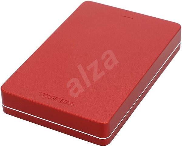"""Toshiba Canvio ALU 2.5 """"1000GB červený - Externý disk"""