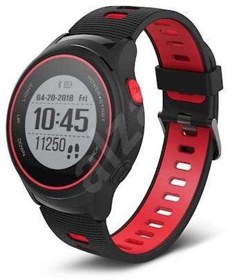 Forever SW-600 čierne a červené - Smart hodinky