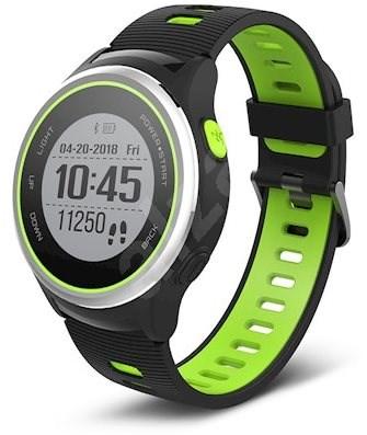 Forever SW-600 čierno-strieborné a zelené - Smart hodinky