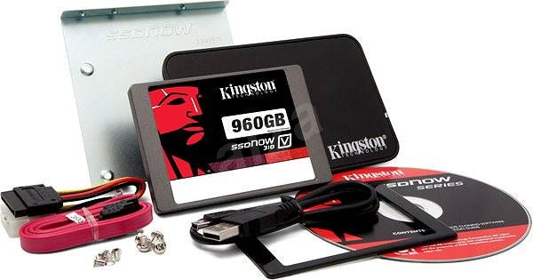 Kingston SSDNow KC310 960GB 7mm Upgrade bundle kit - SSD disk