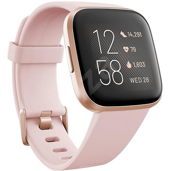 Fitbit Versa 2 (NFC) – Petal/Copper Rose - Smart hodinky