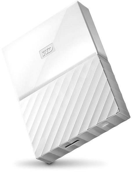 "WD 2,5"" My Passport 4 TB biely - Externý disk"