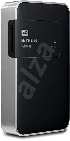 "WD 2.5 ""My Passport Wireless 1000GB čierny - Dátové úložisko"