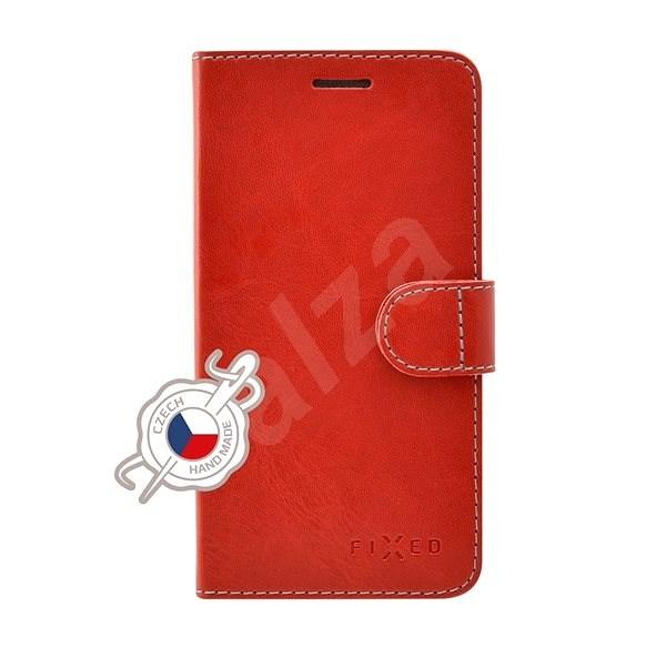 FIXED FIT pre Samsung Galaxy A3 (2017) červené - Puzdro na mobil