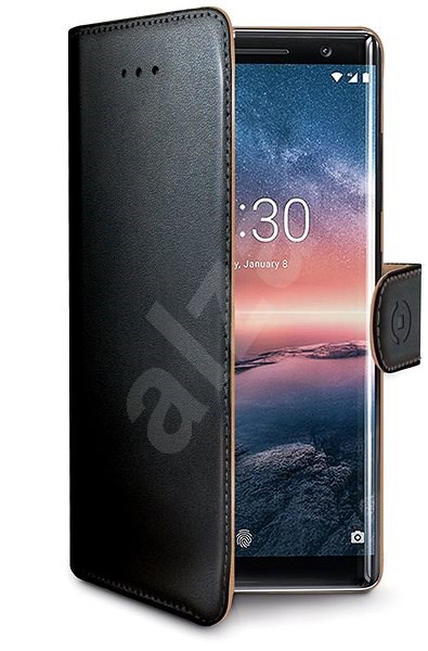 CELLY Wally pre Nokia 8 Sirocco čierne - Puzdro na mobil