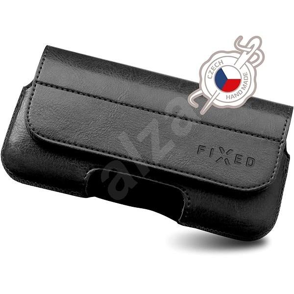 FIXED Sarif horizontálne XL čierne - Puzdro na mobil