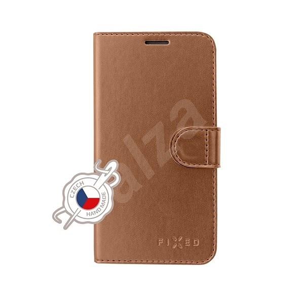 FIXED FIT Shine pre Samsung Galaxy J4+ bronzové - Puzdro na mobil