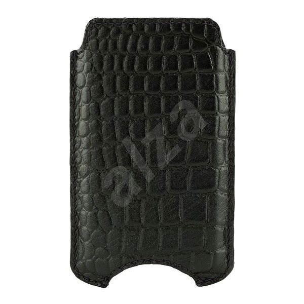 """d.bramante1928 Cover 4.3"""" Croc black - Puzdro na mobil"""