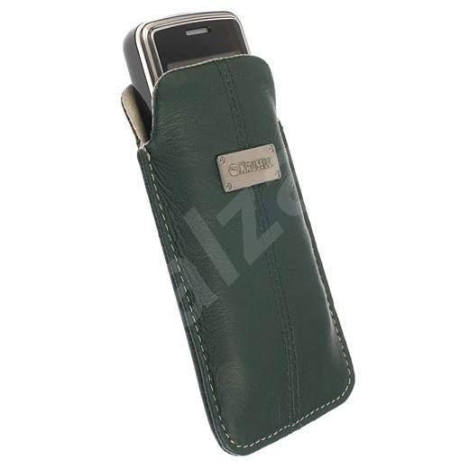 Krusell LUNA Medium zeleno-béžové - Puzdro na mobil
