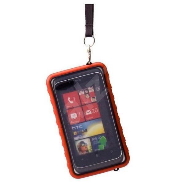 Krusell SEaLABox červené - Puzdro na mobil