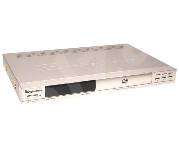 CYBERHOME CH-DVD 462 stolní DVD, DivX, XviD, SVCD, MP3, CD, JPEG přehrávač - stříbrný (silver) -