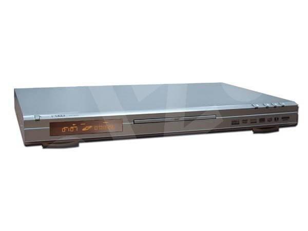 H&B DX-3255 stolní DVD, DivX, XviD, SVCD, MP3, CD, JPEG přehrávač - stříbrný (silver) -