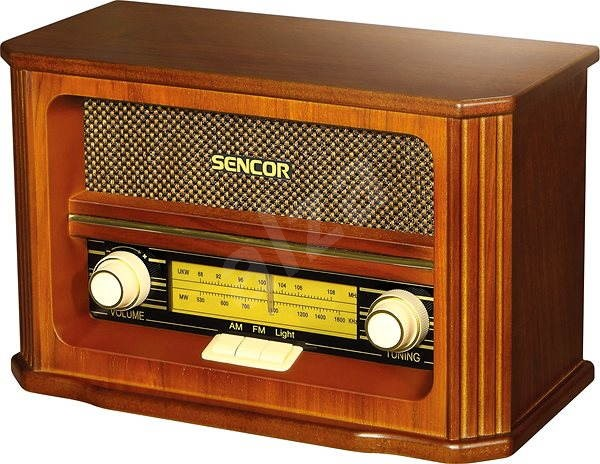 Sencor SRD 020 RETRO - Rádio
