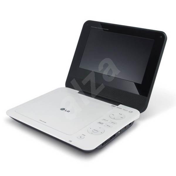 LG DP450 bílo-černý - Prenosný DVD prehrávač