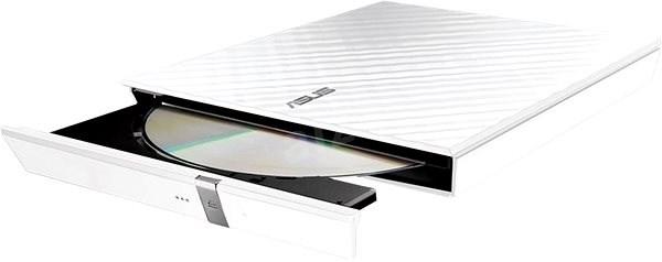 ASUS SDRW-08D2S-U Lite biela + software - Externá napaľovačka