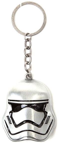 Star Wars – 3d Stormtrooper Metal Keychain - Kľúčenka