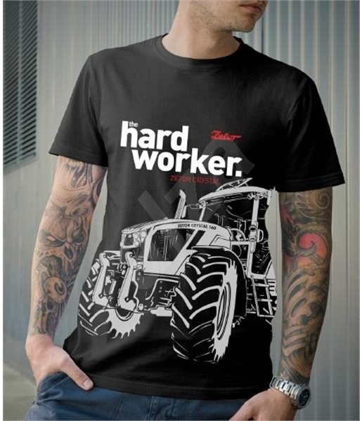 fe3cf2a2942e Zetor Hardworker – tričko XL - Tričko