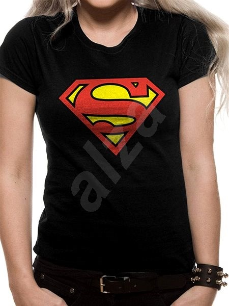 Superman – tričko (dámske) S - Tričko b7ff9c7f4a7