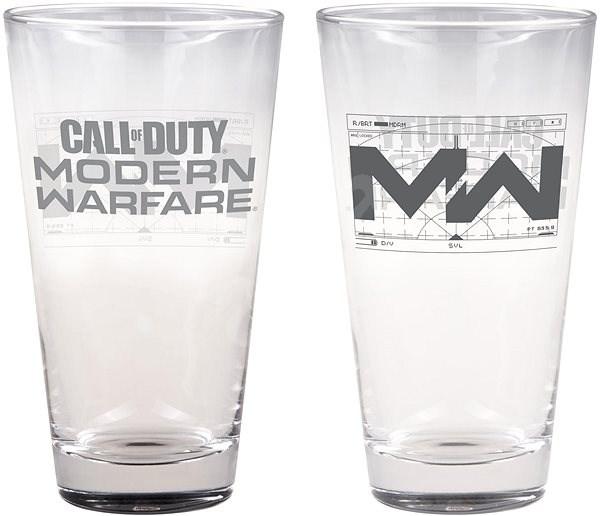 Call of Duty: Modern Warfare - Logo - sklenička - Hrnček