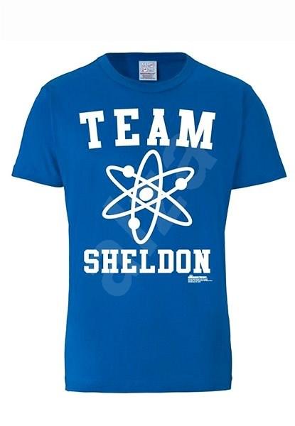 Big Bang Theory: Team Sheldon, tričko S - Tričko