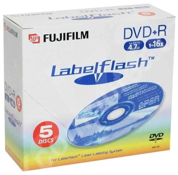 DVD+R médium FUJIFILM LabelFlash -