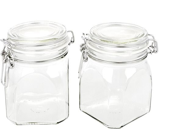 GOTHIKA Zaváraninové poháre 500 ml s vekom 6 ks - Dóza