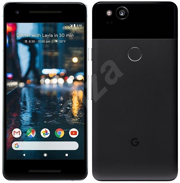 Google Pixel 2 64 GB čierny - Mobilný telefón