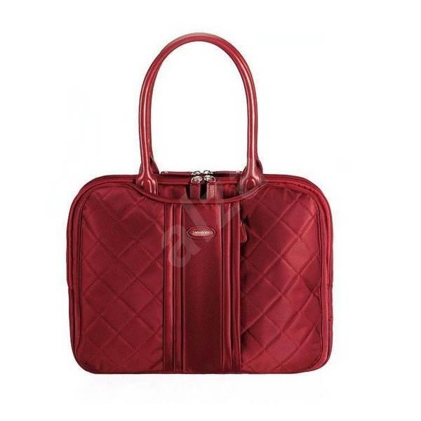 """Samsonite Virgo Handbag 15.4"""" červená - Dámska taška na notebook"""