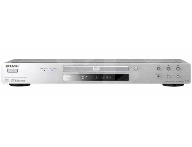 Sony DVP-NS955V/S stolní DVD, DivX, SVCD, SACD, MP3, CD, JPEG přehrávač - stříbrný (silver) -
