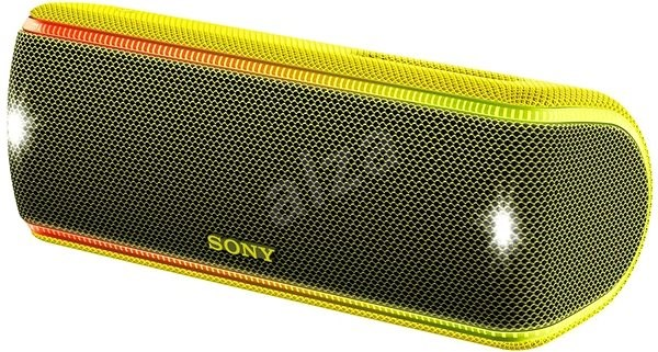 Sony SRS-XB31, žltý - Bluetooth reproduktor