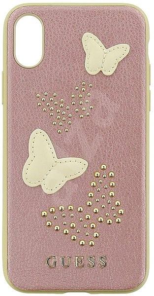Guess Studs and Sparkle pre Apple iPhone X Rose Gold - Ochranný kryt ... ededbceb4e6