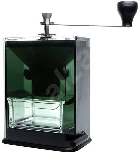 Hario Clear priehľadný mlynček na kávu - Mlynček na kávu