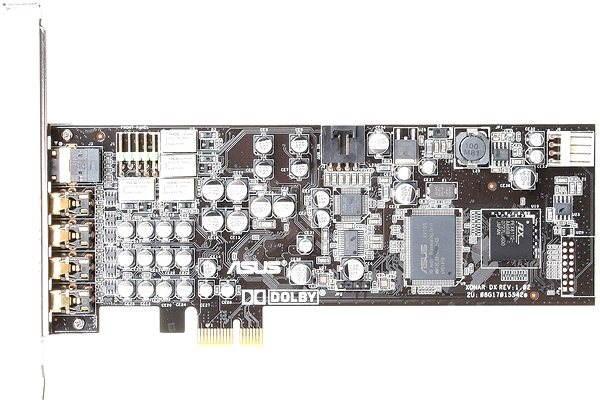 ASUS Xonar DX/XD - Zvuková karta