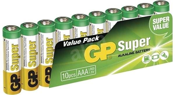 GP Super Alkaline LR03 (AAA) 10 ks v blistri - Jednorázová batéria