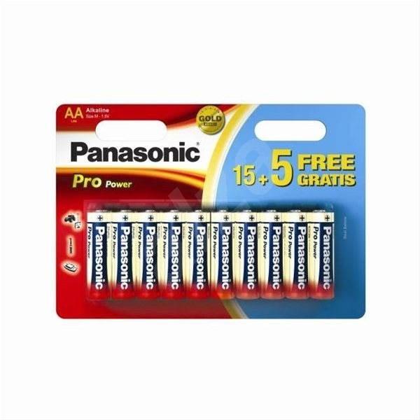 Panasonic LR6PPG/20BW 15+5Free - Jednorázová batéria