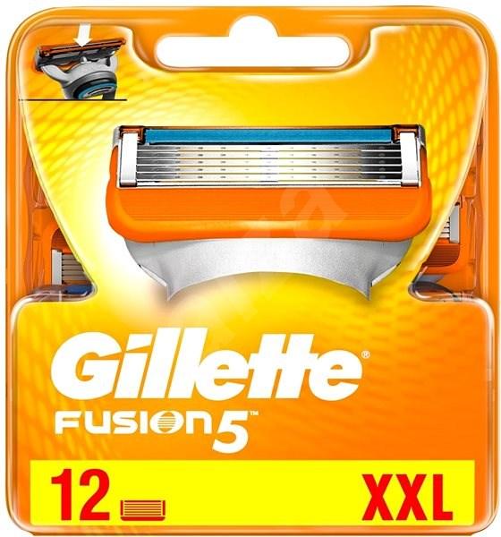GILLETTE Fusion Manual 12 ks - Pánske náhradné hlavice