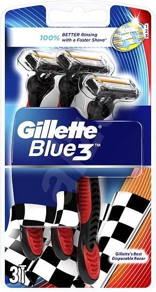 Gillette Blue3 pohotové žiletky 3 ks - Holiace strojčeky