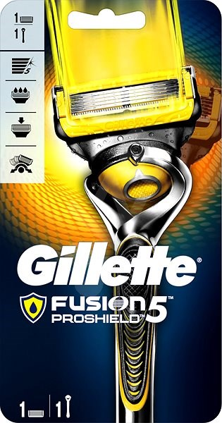 GILLETTE Fusion Proshield strojček + hlavica 1 ks - Holiaci strojček ... 7217204f03c