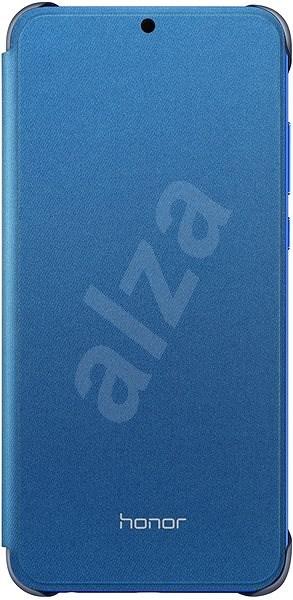 Honor 8X PU Flip Protective Cover Blue - Puzdro na mobil