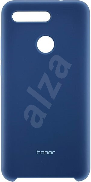 Honor View 20 Silicone Protective case Blue - Kryt na mobil