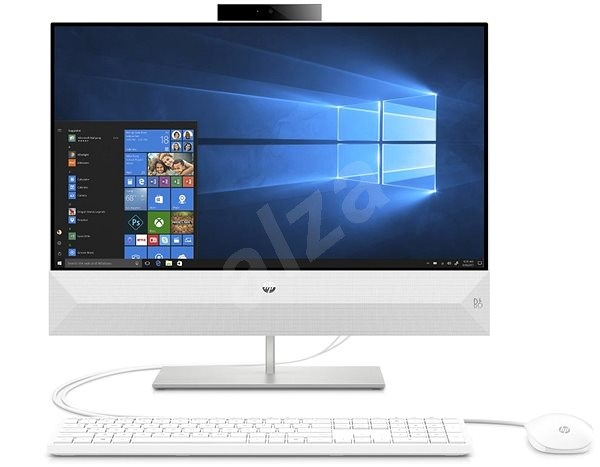 HP Pavilion 24-xa0004nc Snow White - All In One PC