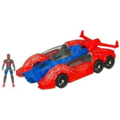 Spiderman s vozidlem Spider Racer -