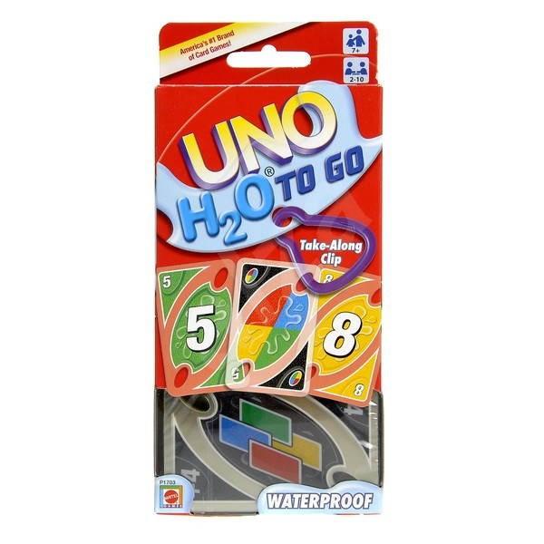 UNO H2O – plastové karty - Spoločenská hra